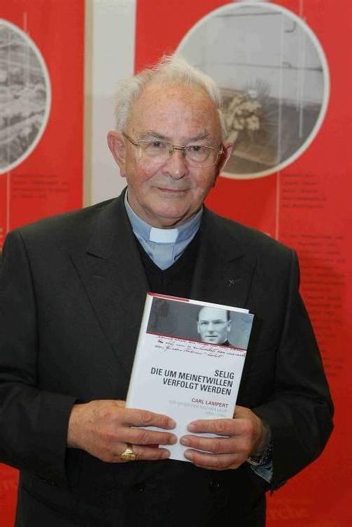 Reinhold Stecher kannte Carl Lampert gut. Foto: VN/Hofmeister