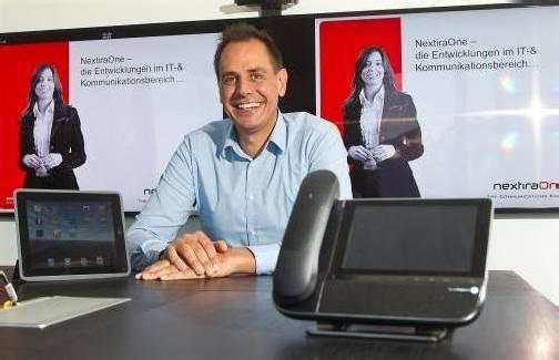 Sorgt für Kommunikation in vielen Vorarlberger Unternehmen: Oliver Kleboth, Nextira One. Foto: VN/Steurer