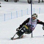 Dorn im Slalom auf dem Podest