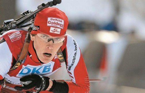 Tobias Eberhard empfahl sich mit guten Leistungen im IBU-Cup für einen Weltcupeinsatz. Foto: reuters