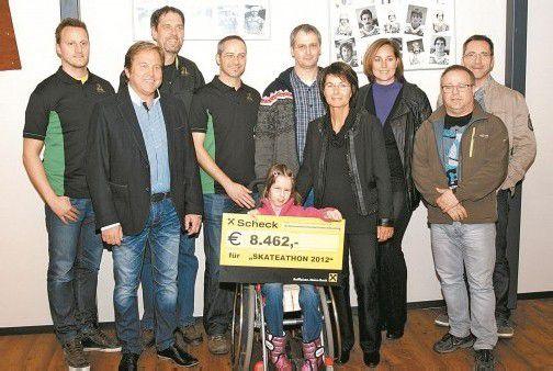 Viele private Initiativen unterstützen Inge Sulzer und die Katastrophenhilfe.  Foto: Privat