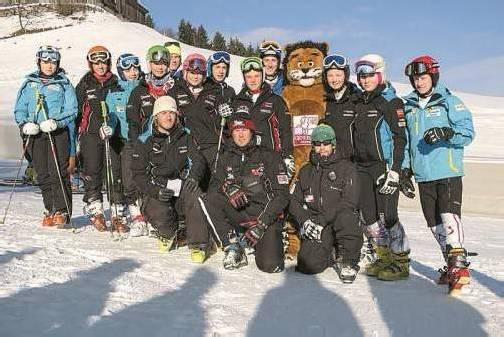 Vorarlbergs Schülerkaderläufer verstärkten Österreichs Teams beim Junior Race in Kitzbühel. Foto: vsv