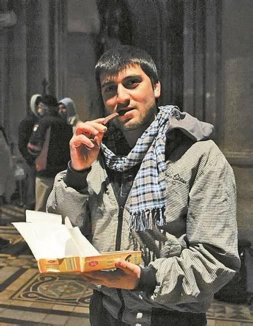 Votivkirche: Asylwerber unterbrechen Hungerstreik. Foto: APA