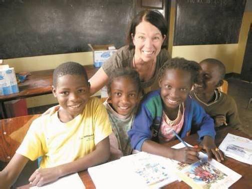 Zwei Mal jährlich besucht Marianne Brugger die beiden Kinderzentren im südostafrikanischen Staat, die ihr so am Herzen liegen. Foto: privat
