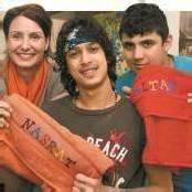 Persönlicher Willkommensgruß für junge Flüchtlinge