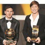 Lionel Messi zum vierten Mal in Folge Weltfußballer des Jahres
