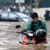 Überschwemmungen in Jakarta