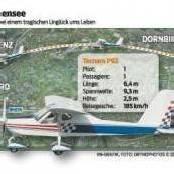 Flugzeugabsturz: Passagier (21) riss den Piloten mit in den Tod