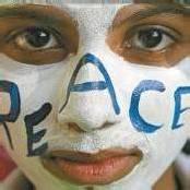 Demonstration für den Frieden