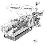 Beim Wähler auf der Couch!