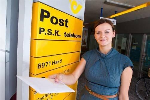 Das Postamt Hard musste schließen und wird durch einen Postpartner ersetzt – man fragt sich nur, warum das so sein muss. Foto: vn/steurer