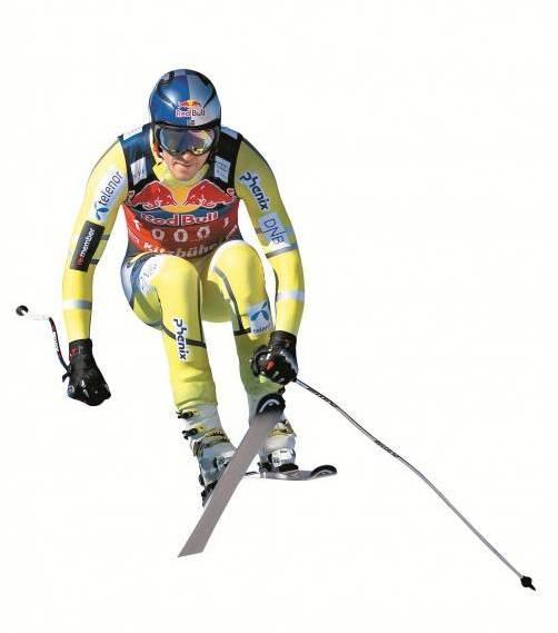 Aksel Lund Svindal in Aktion: Der Norweger liebt die schnellen Disziplinen. Foto: gepa
