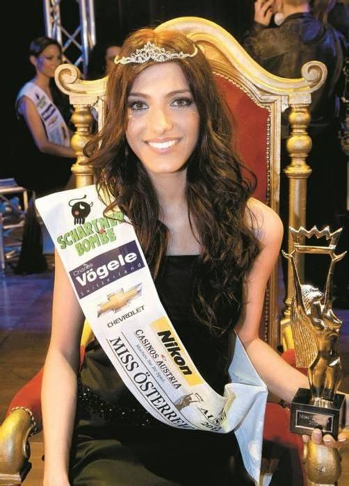Amina Dagi war 2012 zur Miss Austria gekürt worden.