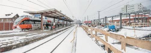 Bei laufendem Betrieb erfährt der Bahnhof Hohenems für rund 33 Millionen Euro einen umfassenden Um- und Neubau. Fotos: beate Rhomberg