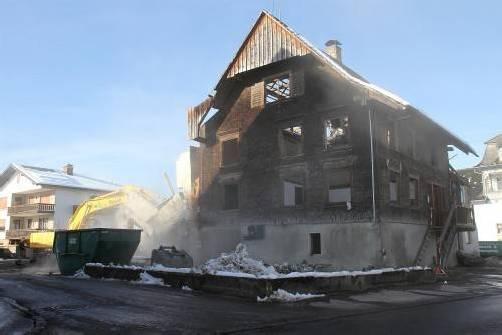 Das Haus Holzstraße 30 – erbaut 1822, abgebrochen 2013. Foto: vmb