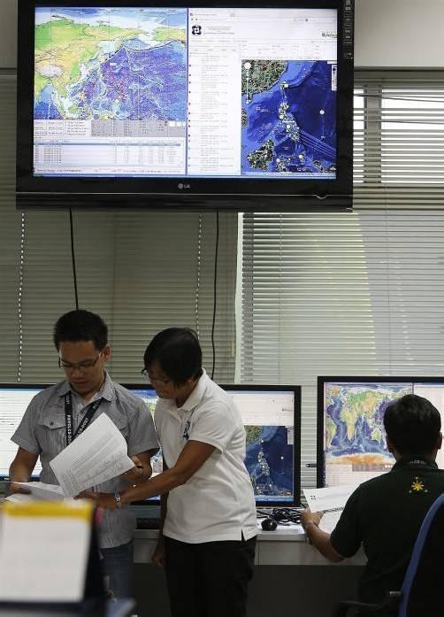 Das erste schwere Beben hatte sich nach Angaben der Bebenwarte USGS um 1.12 Uhr (MEZ) im Südpazifik ereignet. Foto: EPA