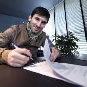 Love Story und Jubel um Lionel Messi