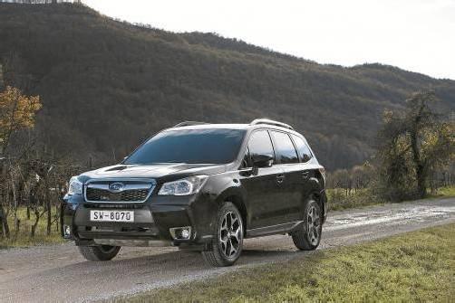 Der Subaru Forester tritt rundum gewachsen, verjüngt und neu gestärkt seine vierte Generation an. Fotos: werk