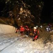 Einsatzkräfte probten im Skigebiet für den Ernstfall