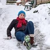 60-Jährige rutschte auf Eisplatte aus und fordert Schadenersatz