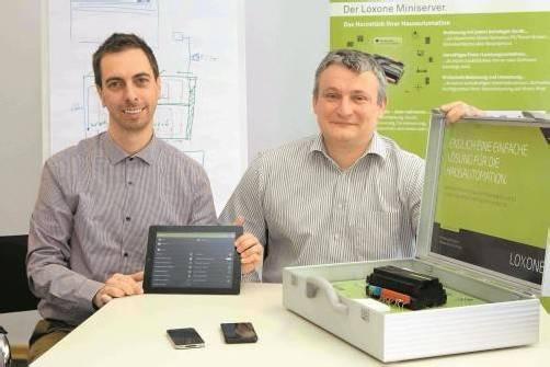 Die Geschäftsführer Martin Thurnher (l.) und Ulrich Sohm. Foto: vn/Paulitsch