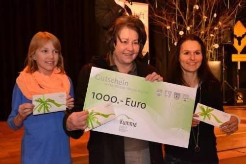Die Hauptgewinner: Julia Platzer aus Götzis, Marianna Faefel aus Au und Alexandra Häfele aus Götzis. Foto: ver