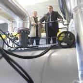 Nahwärmeprojekt spart 873.000 Liter Öl ein
