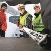 Skidiebstahl im großen Stil am Arlberg hält Polizei auf Trab