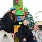 Altachs Schüler bringen Farbe in den Winter