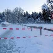 Sebastian-Kneipp-Weg ist gesperrt