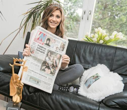 Ein aufregendes Jahr steht ihr bevor – Angelika, die neue Miss Vorarlberg. Fotos: Beate Rhomberg