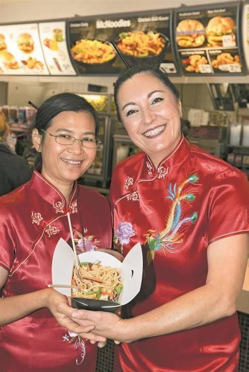 Erfolgreiche Neueinführung: McNoodles haben 2012 das McDonald's-Geschäft in Vorarlberg angekurbelt. Foto: VN/Hartinger