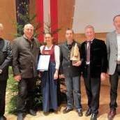 Auszeichnung für Forstfonds im Montafon