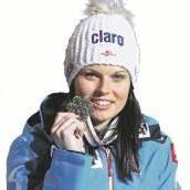 Fenninger jubelt Bronzemedaille im Riesentorlauf /C1