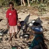 Tausende warten auf den Salomonen auf Hilfe
