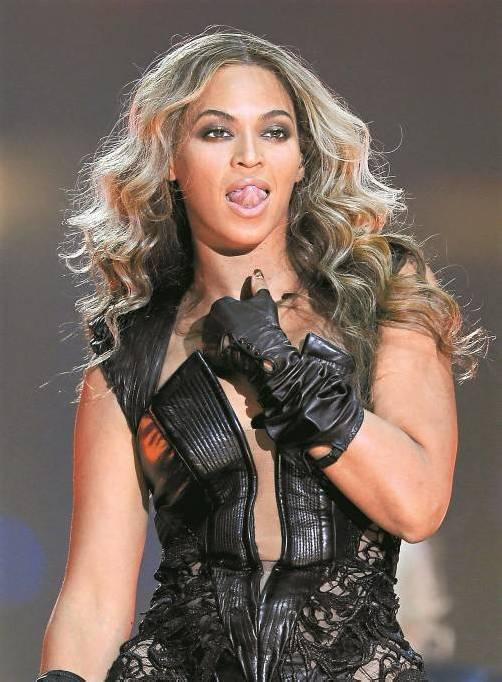 In der Halbzeit brachte Weltstar Beyoncé die 71.024 Zuschauer im Superdome von New Orleans zum Kochen. Foto: reuters