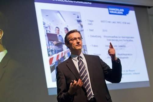 """Heinzl: """"Ziel ist die Diffusion neuer Technologien.""""  Foto: VN/Steurer"""