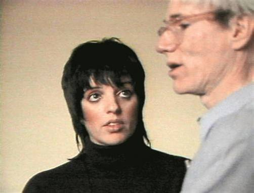Andy Warhol und Liza Minnelli, 1981 Video still: Kunsthaus Bregenz, Andy Warhol Museum Pittsburgh