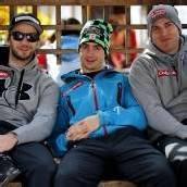 Regennasse Snowboarder bei Olympia-Generalprobe