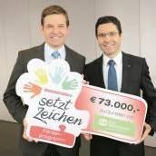 73.000 Euro für SOS-Kinderdorf