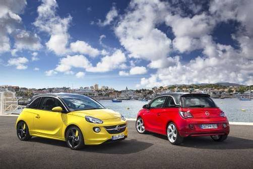 Opel Adam kommt bei den Kunden gut an. Foto: werk