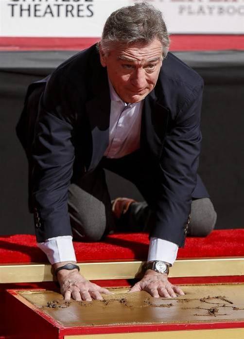 Robert de Niro hat sich im Datum geirrt. Foto: EPA