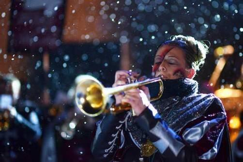 Seit elf Jahren spielt Sabine Matt bei den Spältaschränzern Trompete. Als musikalische Leiterin ist die 28-Jährige die erste Saison im Einsatz. Foto: Privat