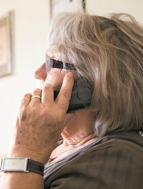Seniorinnen sind die bevorzugten Opfer der Betrüger.