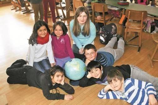 Sieben Kinder in der 3a haben eine andere Muttersprache als Deutsch. Foto: vn/paulitsch
