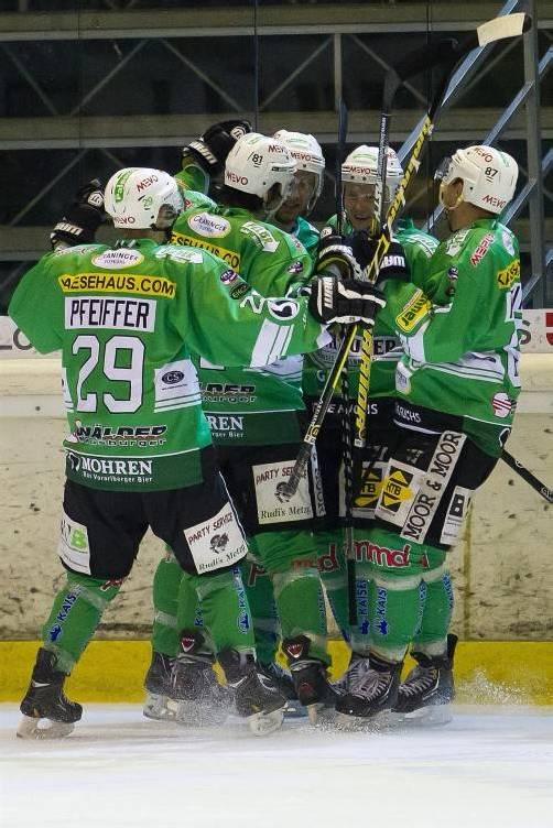 Siege am Wochenende gegen den überlegenen Leader Zell und beim Derby in Feldkirch – die Wälder sind das Team der Stunde! Foto: VN/Steurer
