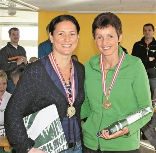 Sigrun Fenkart (l.) und Sabine Aberer. Foto: Privat