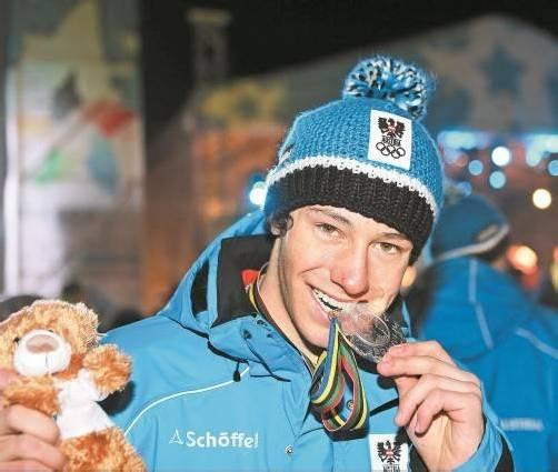 Skirennläufer Mathias Graf will heute in Brasov im Slalom nochmals kräftig zubeißen. Foto: gepa