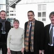 Feldkirch: Prominente Besucher bei Firstfeier