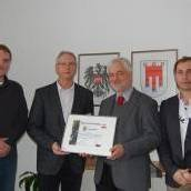 Gemeinde Bürs: Zertifizierung für Ökostrom